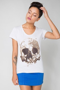 Camiseta Beehive Skull