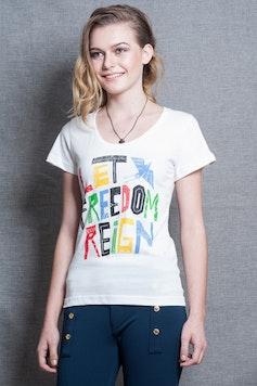 Camiseta Let Freedom Reign