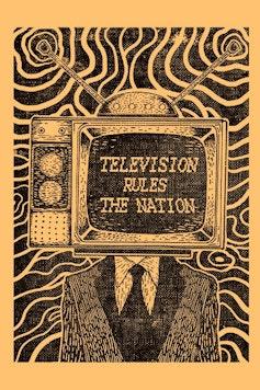 Estampa Camiseta Television