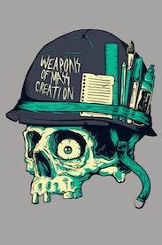 Estampa Camiseta Weapons of Mass Creation