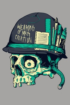 Estampa Camiseta Weapons of Mass Creation