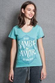 Camiseta Samba e Amor