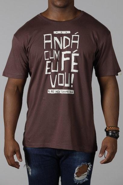 9ef932c3c Camiseta Andá Cum fé - Chico Rei
