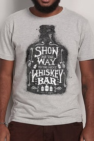 Camiseta Whiskey Bar