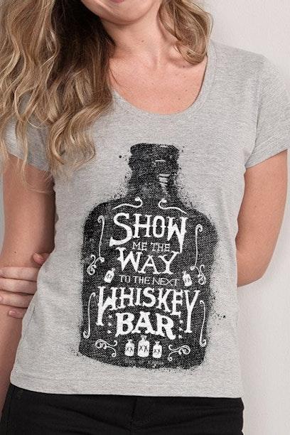 Camiseta Whiskey Bar