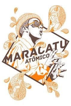 Estampa Camiseta Maracatu Atômico