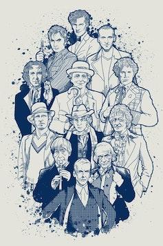 Estampa Camiseta Doctor Who