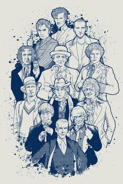 Camiseta Doctor Who