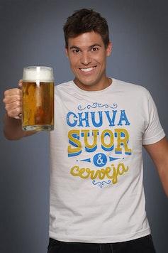 Camiseta Chuva, Suor e Cerveja