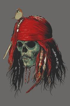 Estampa Camiseta Capitão Jack