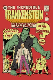 Estampa Camiseta The Incredible Frankenstein