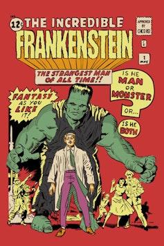 Estampa Camiseta The Incredible Frankenstein