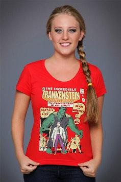 Camiseta The Incredible Frankenstein