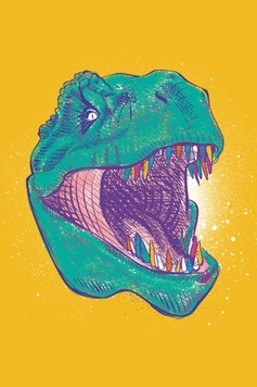 Estampa Camiseta T-Rex