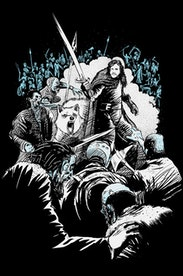 Estampa Camiseta Jon Snow