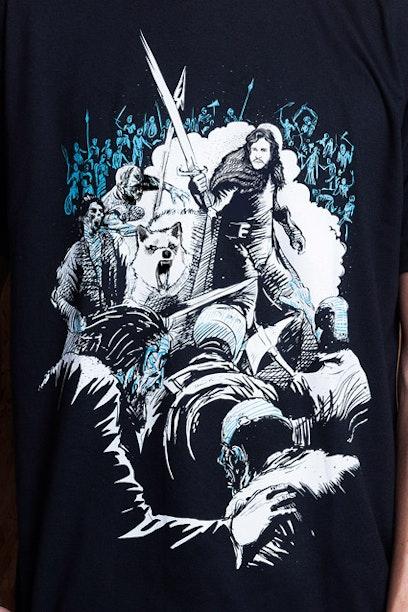 Camiseta Jon Snow