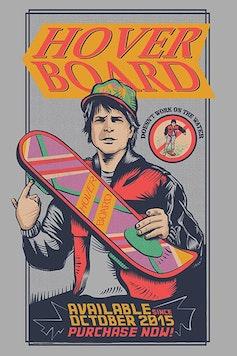 Estampa Camiseta Hoverboard