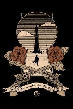 Estampa Camiseta A Torre Negra