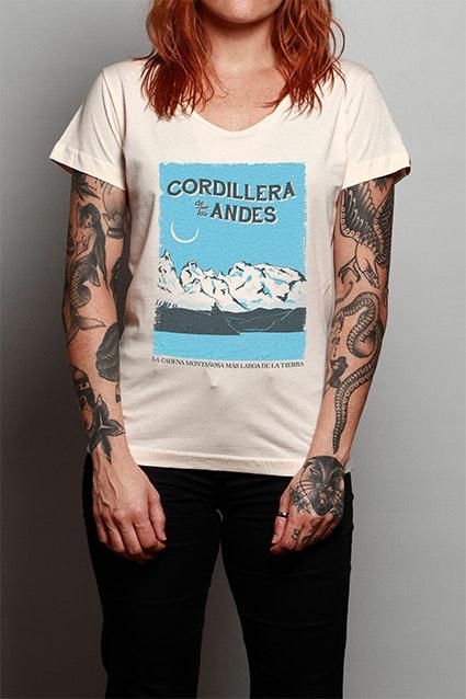 Camiseta Cordillera De Los Andes