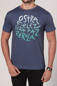 Camiseta Ostra Feliz