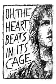 Estampa Camiseta Heart In a Cage