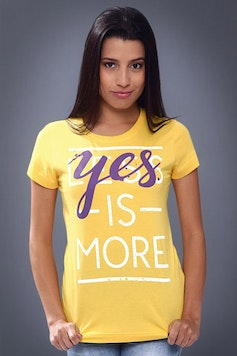 Camiseta Yes is More