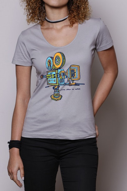 Camiseta Uma Ideia na Cabeça