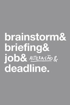 Estampa Camiseta Deadline