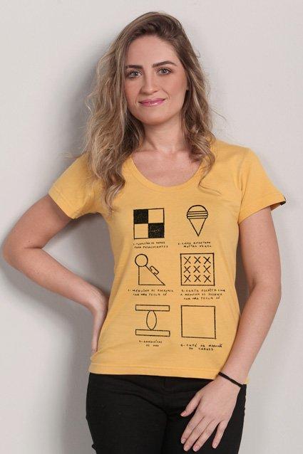 Camiseta Camiseta Aula de Desenho