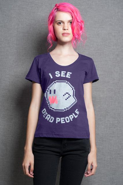 Camiseta Camiseta I See Dead People