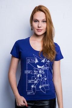 Camiseta Metal Sonic