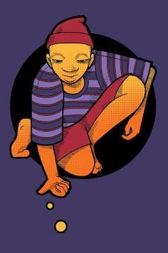 Estampa Camiseta Infância
