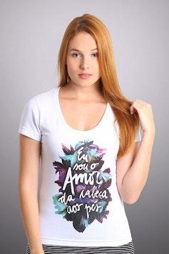 Camiseta Amor da Cabeça aos Pés