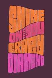 Estampa Camiseta Shine On You Crazy Diamond