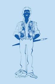 Estampa Camiseta Ziraldo