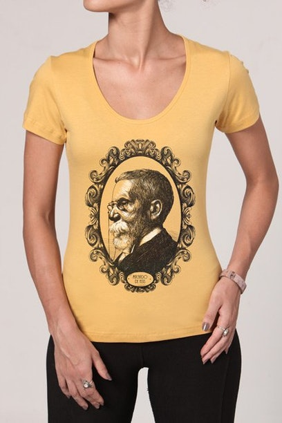 Camiseta Machado De Assis Chico Rei