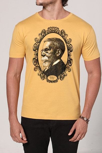 Camiseta Machado de Assis