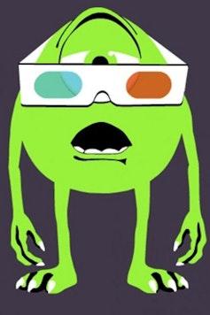 Estampa Camiseta 3D Vision