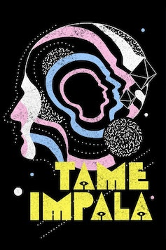 Estampa Camiseta Tame Impala