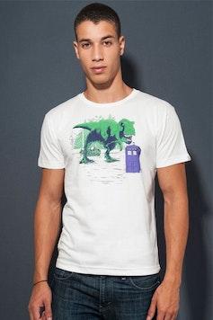 Camiseta Jurassic Who