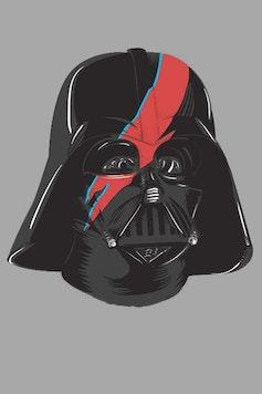 Estampa Camiseta Darth Bowie