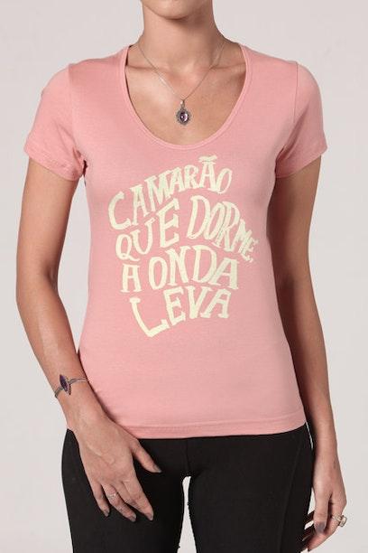 Camiseta Camarão