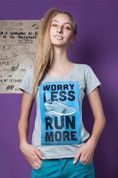 Camiseta Run More