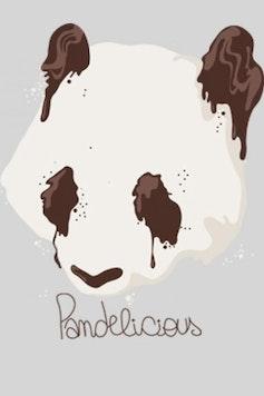 Estampa Camiseta Pandelicious