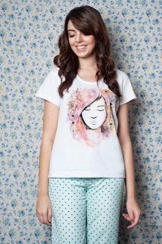 Camiseta Flora