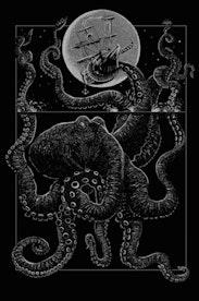 Estampa Camiseta Kraken