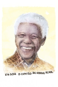 Estampa Camiseta Madiba