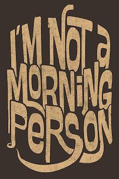 Estampa Camiseta Morning Person