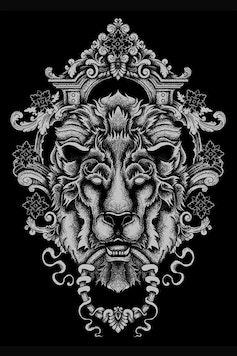 Estampa Camiseta Guardian Lion