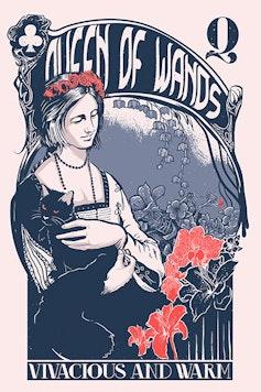 Estampa Camiseta Queen of Wands